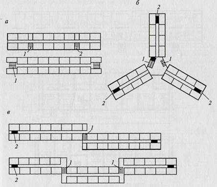 План-схема домов коридор-