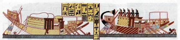 чем смолили лодки во  древности