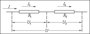 Сопротивление последовательное и параллельное соединение