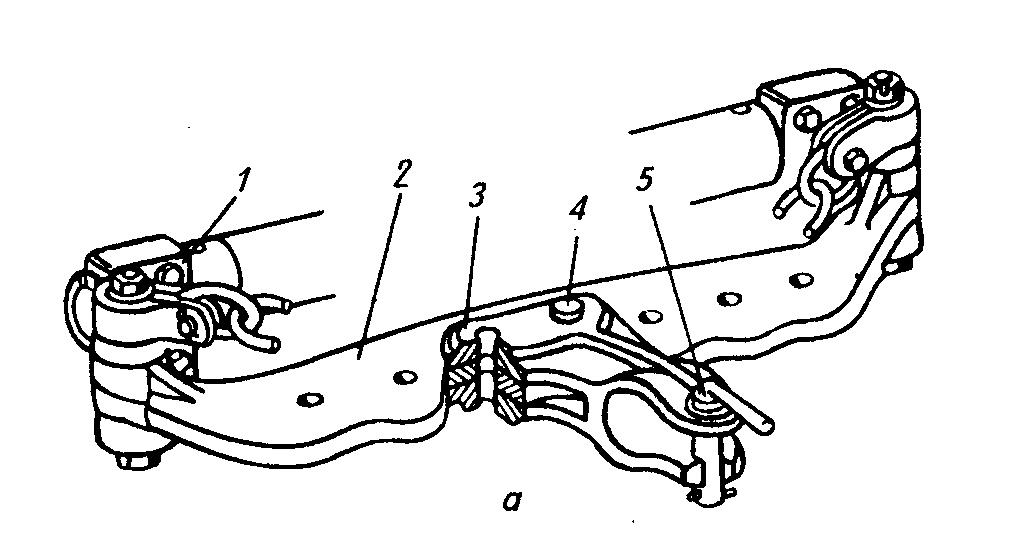 Прицепное устройство трактора