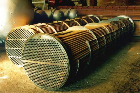 Теплообменник трубные пучки расположение труб в трубной решетке теплообменника