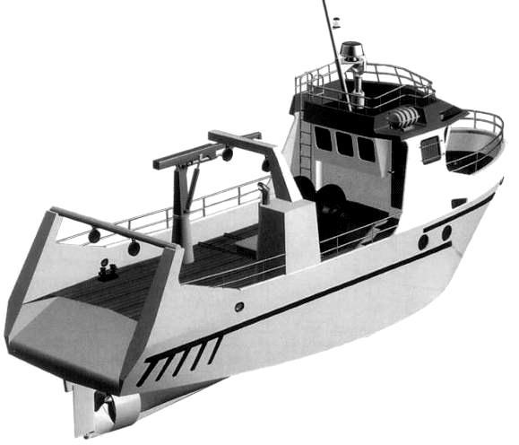 где купить рыболовный траулер