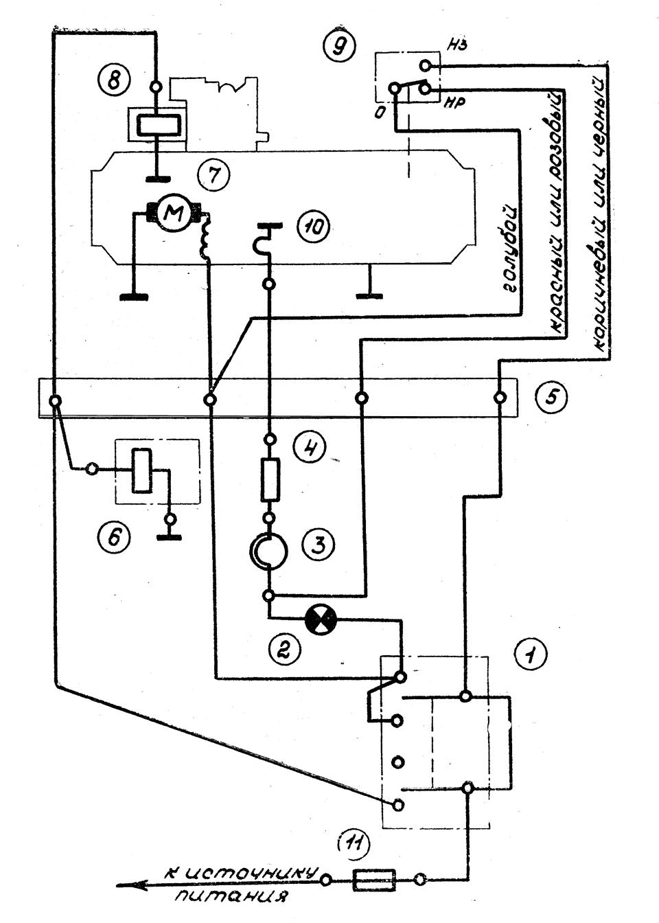 Схема подключения автономной дизельной
