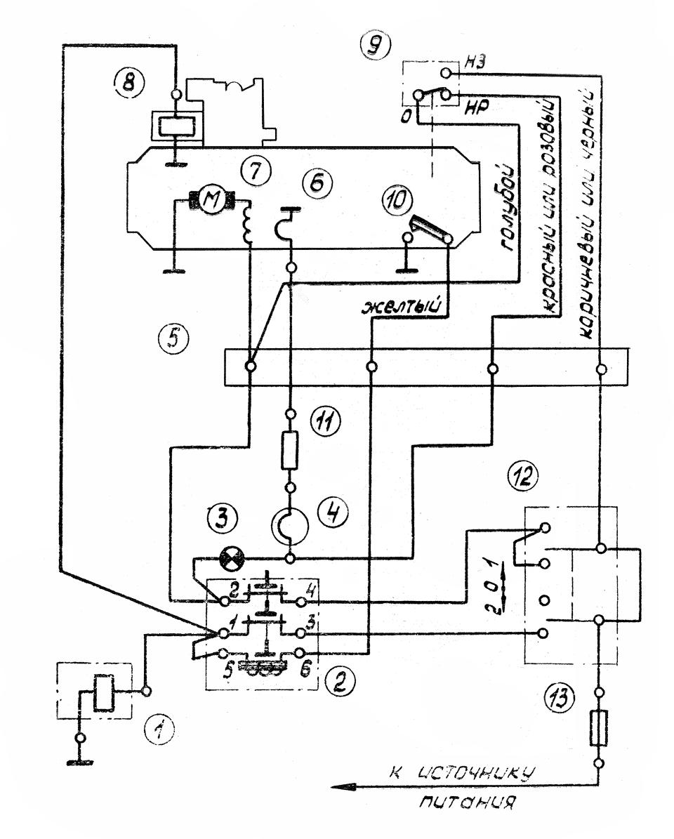 Отопительно-вентиляционная установка ов65-0010 схема подключения