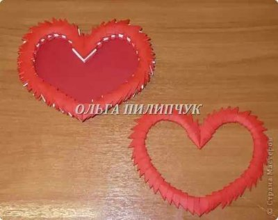 Шкатулка модульное оригами