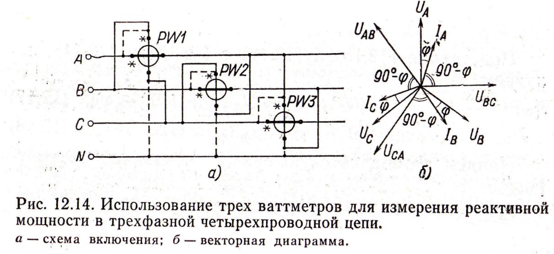 Назначение и схемы включения ваттметра