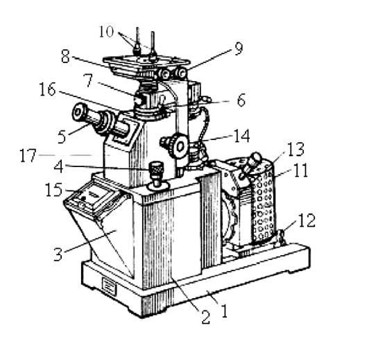 Общий вид микроскопа МИМ - 7