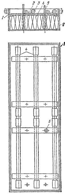 Схема термовкладыша греющей
