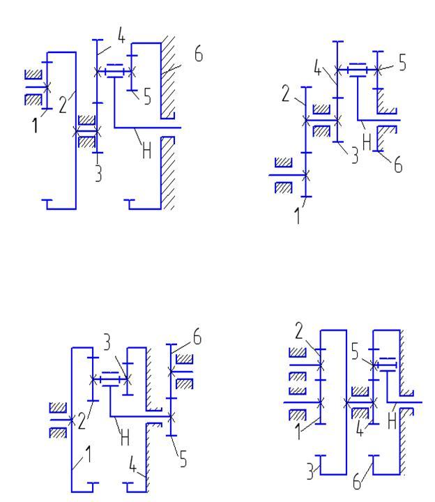 Схема 0 Схема 1
