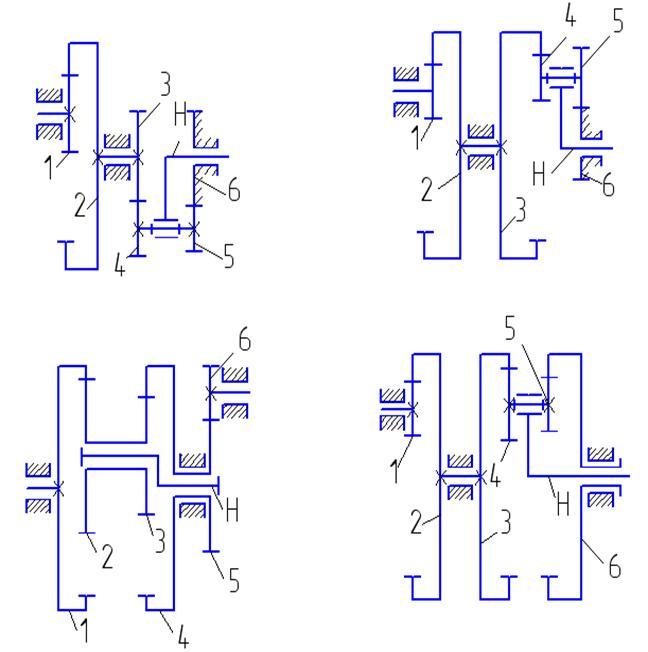 Схема 4 Схема 5