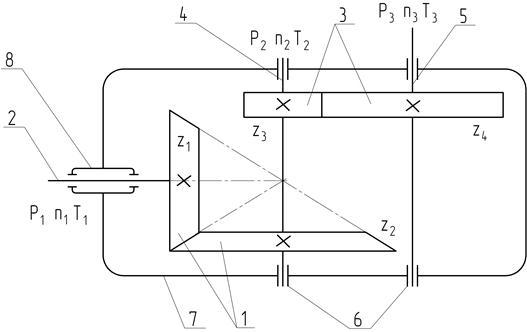 Кинематическая схема