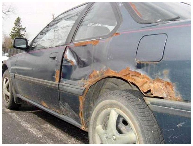 Удаление ржавчины автомобиля своими руками