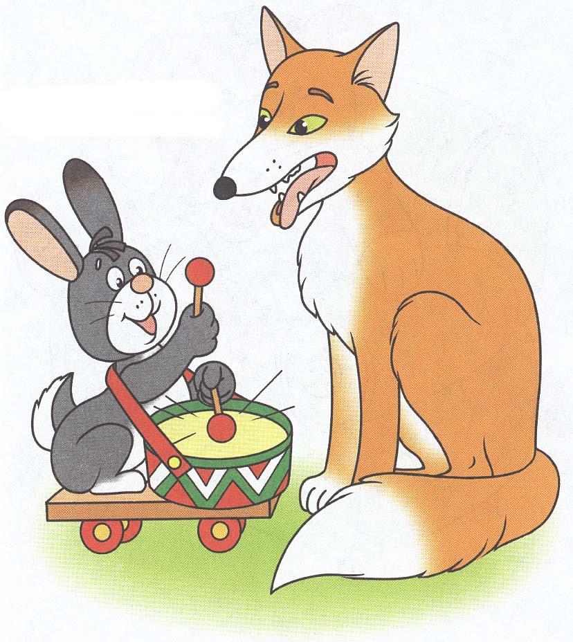 Картинки зайцы лисы