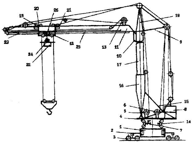 башенного крана КБ-403 Б