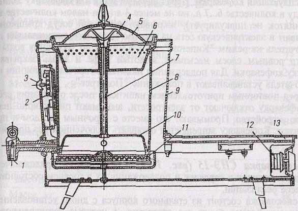 Схема 2.25. Кофеварка КВЭ-7
