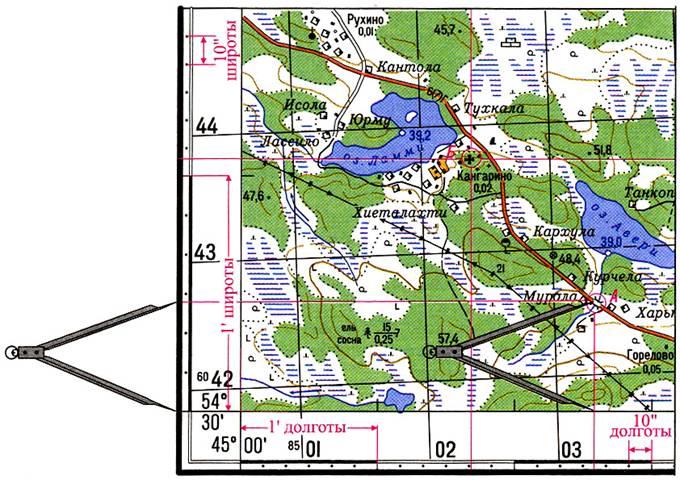 Как сделать координаты на карте