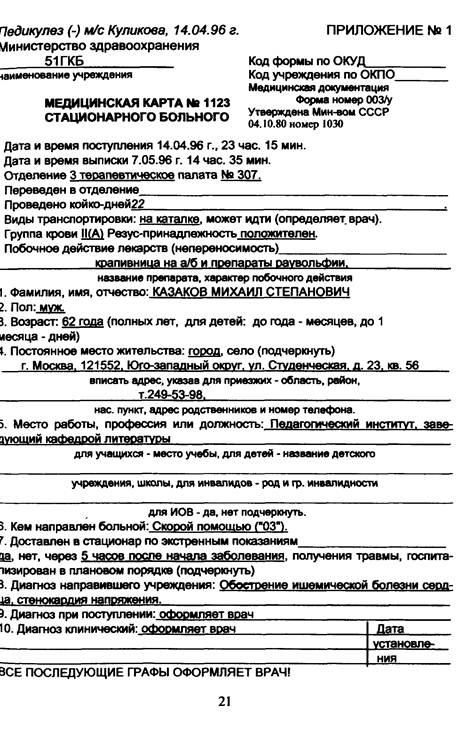 Медицинская документация приемное отделение алюминий цена за 1 кг в Бекасово
