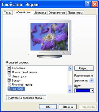 Как сделать заставку на экране монитора
