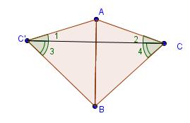 Друга ознака рівності трикутників доказ