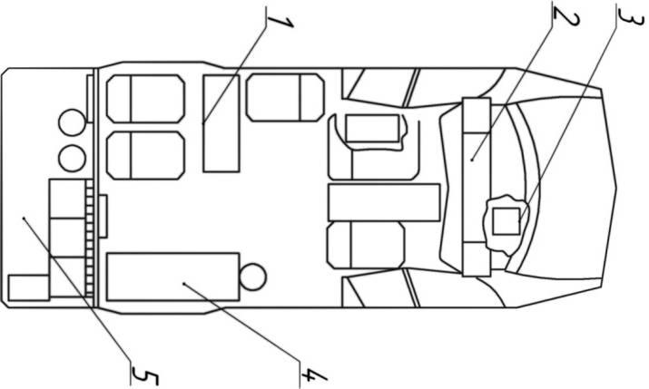 Схема размещения ПТВ на