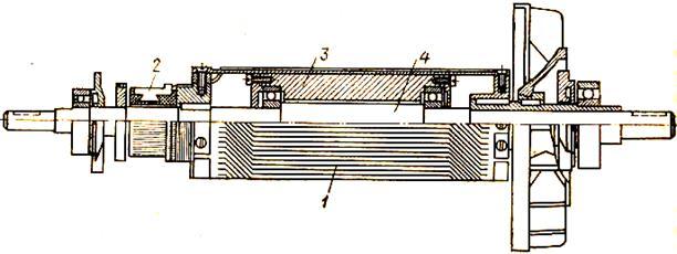 Печатный якорь для двигателя