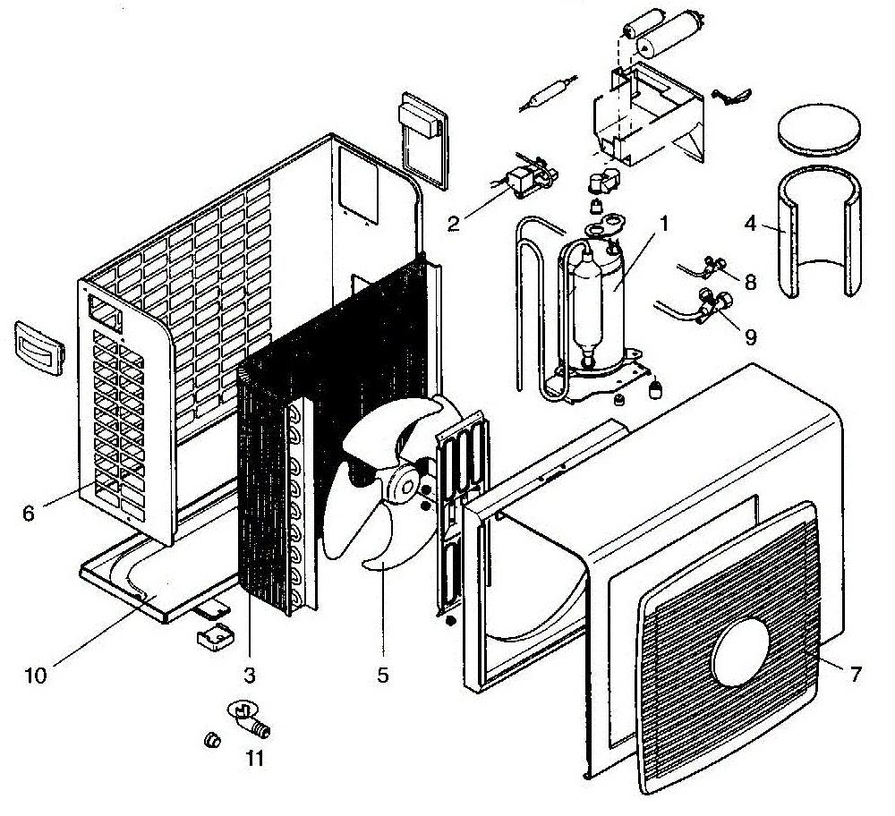 Теплообменник внешнего блока конденсатор wtyf канальный теплообменник поставки в екатеринбург