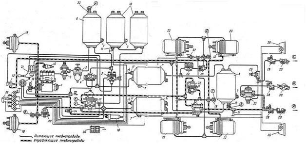 А— клапан контроля вывода IV