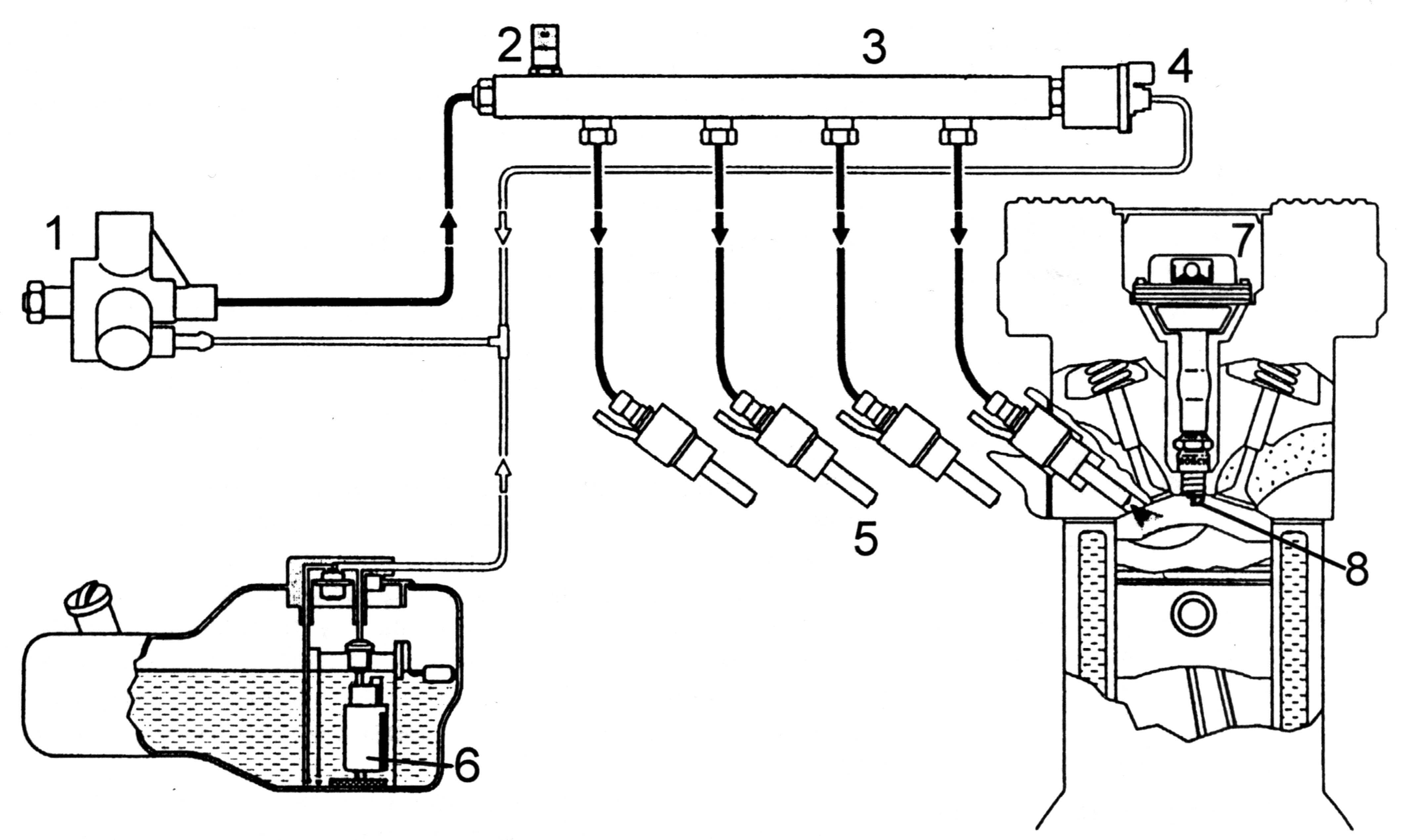 Схема воздушной системы smart fortwo
