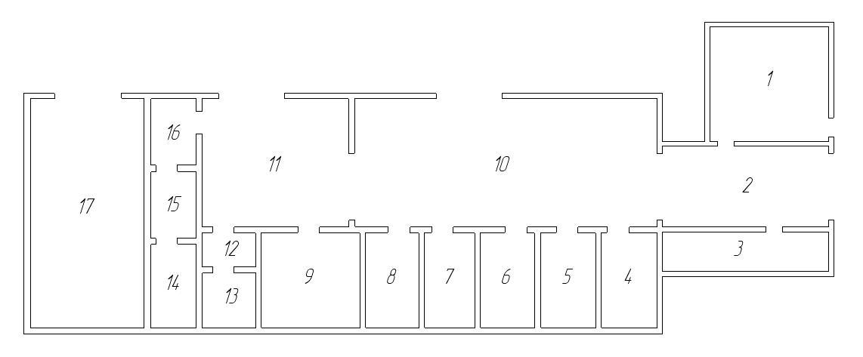 Схема центральной ремонтной