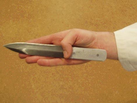 Как сделать нож который кидают