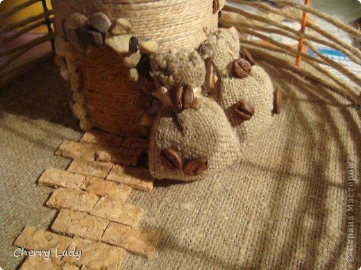 Мельница из мешковины своими руками