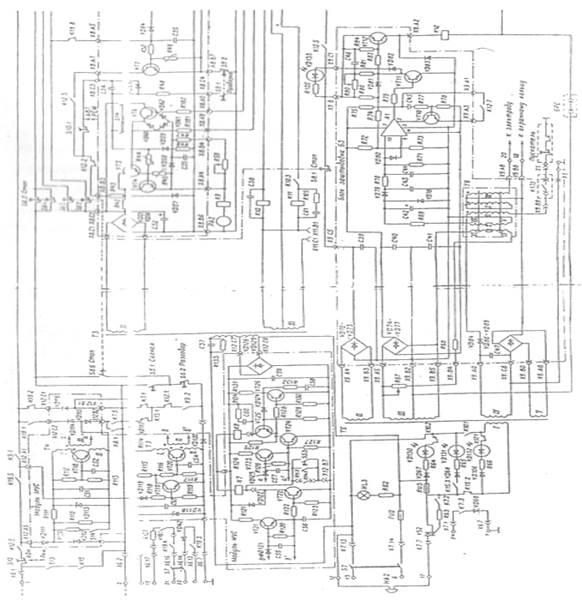 Схема пульта и аук 1м