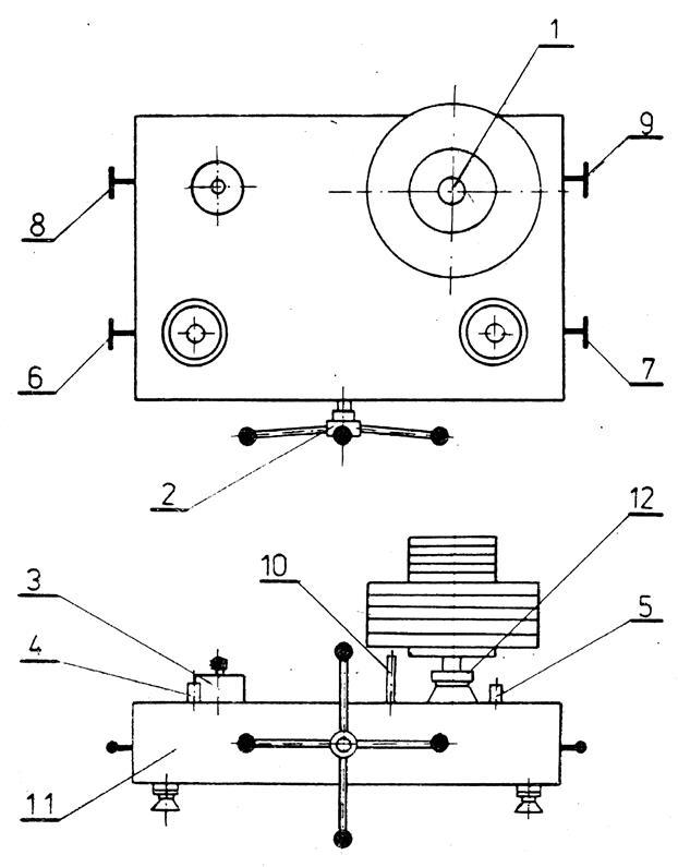 Гидравлическая схема манометра